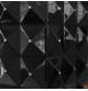 EGZUL czarny z kryształami Swarovski połysk