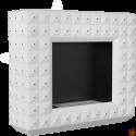 EGZUL biały z kryształami Swarovski mat z certyfikatem TUV