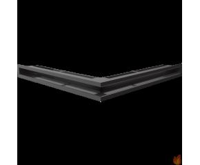 LUFT SF narożny czarny 56x56x6