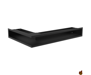 LUFT SF narożny prawy czarny 40x60x9