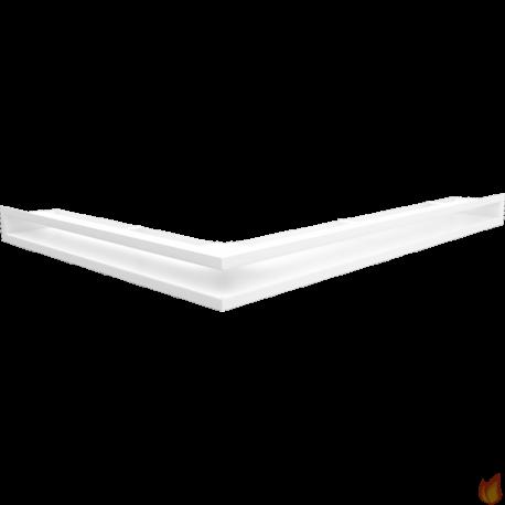 LUFT SF narożny prawy biały 54,7x76,6x6