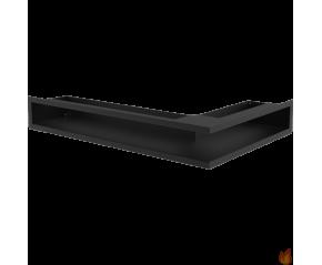LUFT SF narożny lewy czarny 60x40x9
