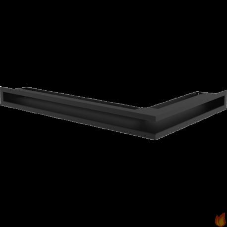 LUFT SF narożny lewy czarny 60x40x6