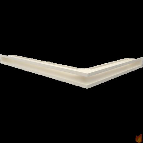LUFT SF narożny lewy kremowy 76,6x54,7x6