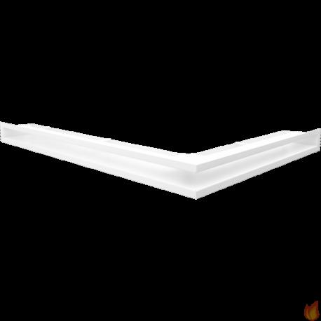 LUFT SF narożny lewy biały 76,6x54,7x6