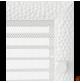 Kratka Venus biała z żaluzją 17x30