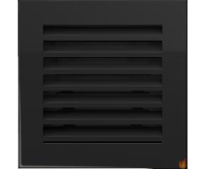 Kratka FRESH czarna 17x17