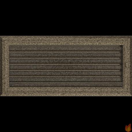 Kratka Oskar czarno-złota z żaluzją 17x37