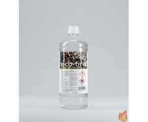 Płyn do biokominków - zapachowy Eco Fire - KAWA - op. 1L - zestaw