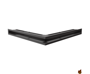 LUFT narożny czarny 56x56x6