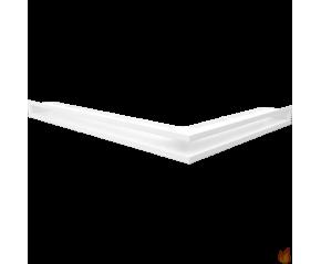 LUFT narożny lewy biały 76,6x54,7x6