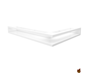 LUFT narożny lewy biały 76,6x54,7x9