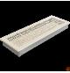 Kratka ABC kremowa 17x49