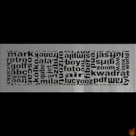 Kratka ABC szlifowana 17x49
