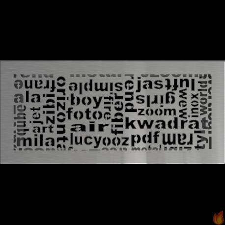 Kratka ABC szlifowana 17x37