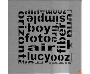 Kratka ABC szlifowana 17x17