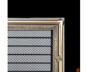 Kratka Rustykalna z żaluzją 22x22