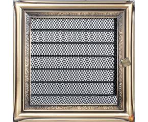 Kratka Rustykalna z żaluzją 17x17