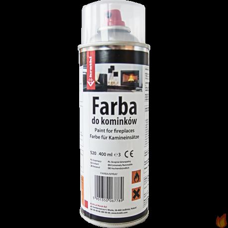 Farba do wkładów żeliwnych SZARA - spray 400 ml