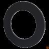 Rozeta stalowa fi 160 z blachy czarnej