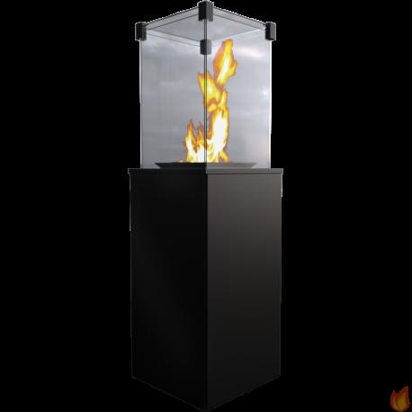 Ogrzewacz gazowy wolnostojący PATIO BASIC MINI stalowy - sterowanie manualne