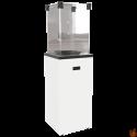 Ogrzewacz gazowy PATIO SLIM stalowy biały - sterowanie manualne