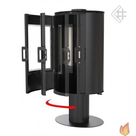 Domykanie drzwi do KOZY AB S w wersji GLASS, KOZY AB S/N/O z panelami kaflowymi oraz KOZY AB S z panelami kamiennymi