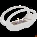 BIOKOMINEK ECHO biały z certyfikatem TUV